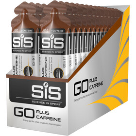SiS GO Plus Caffeine Gel Caja 30x60ml, Cola